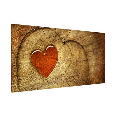 Lavagna magnetica - Natural Love - Panorama formato orizzontale