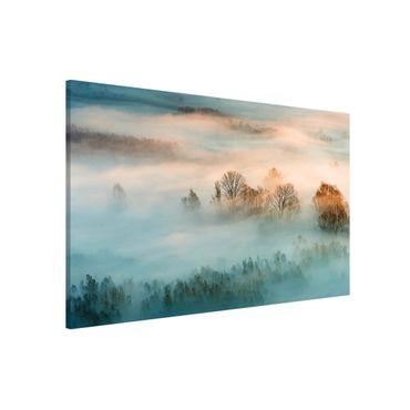 Lavagna magnetica - Fog At Sunrise - Formato orizzontale 3:2