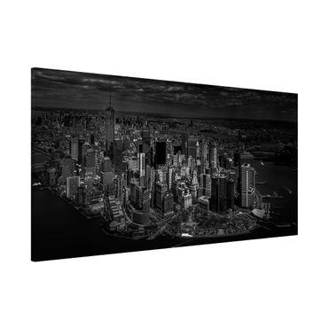 Lavagna magnetica - New York - Manhattan da The Air - Panorama formato orizzontale