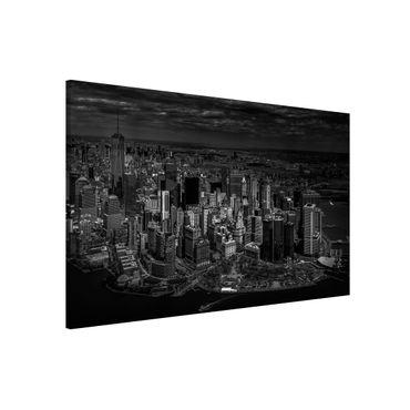 Lavagna magnetica - New York - Manhattan da The Air - Formato orizzontale 3:2