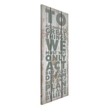 Lavagna magnetica - No.RS179 Great Things - Panorama formato verticale