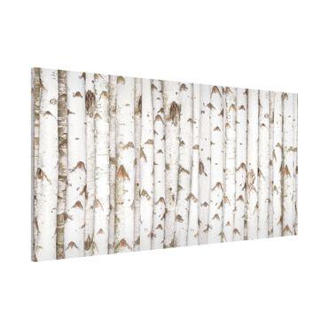 Lavagna magnetica - No.YK15 Birch Wall - Panorama formato orizzontale