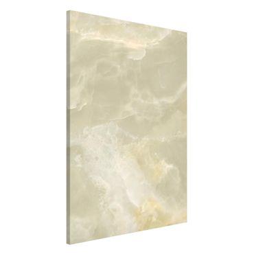 Lavagna magnetica - Onyx marble cream - Formato verticale