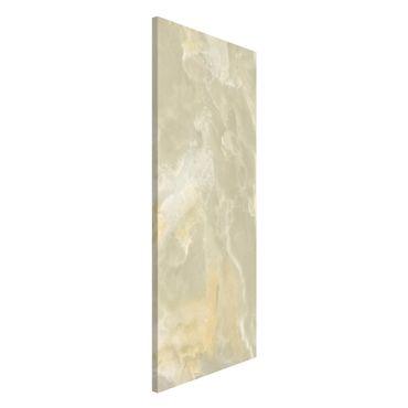 Lavagna magnetica - Onyx marble cream - Panorama formato verticale