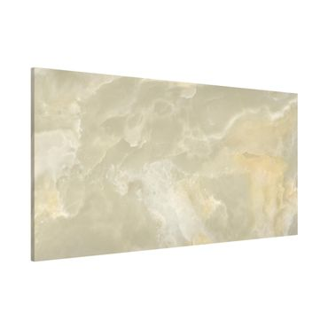 Lavagna magnetica - Onyx marble cream - Panorama formato orizzontale