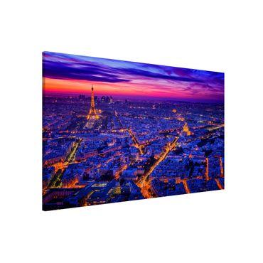 Lavagna magnetica - Parigi di notte - Formato orizzontale 3:2