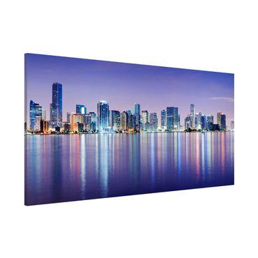 Lavagna magnetica - Purple Miami Beach - Panorama formato orizzontale