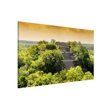 Lavagna magnetica - Pyramid Of Calakmul - Formato orizzontale