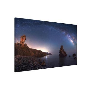 Lavagna magnetica - Sea Of ??Galaxy - Formato orizzontale 3:2