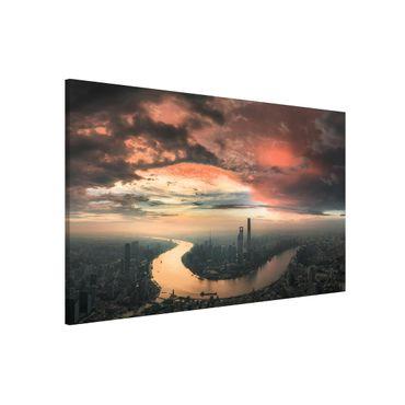 Lavagna magnetica - Shanghai Mattina - Formato orizzontale 3:2