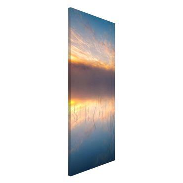 Lavagna magnetica - Alba Lago svedese - Panorama formato verticale