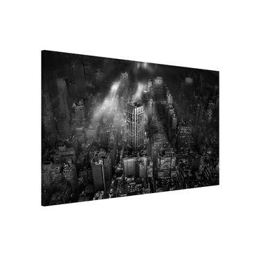 Lavagna magnetica - Luce del sole su New York - Formato orizzontale 3:2