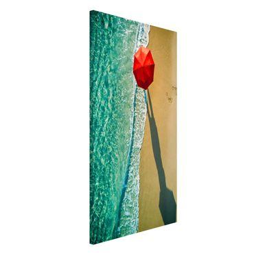 Lavagna magnetica - Walk On The Beach - Formato verticale 4:3