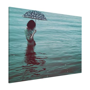 Lavagna magnetica - Walk In The Water - Formato orizzontale 3:4