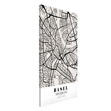 Lavagna magnetica - Basel City Map - Classic - Formato verticale 4:3