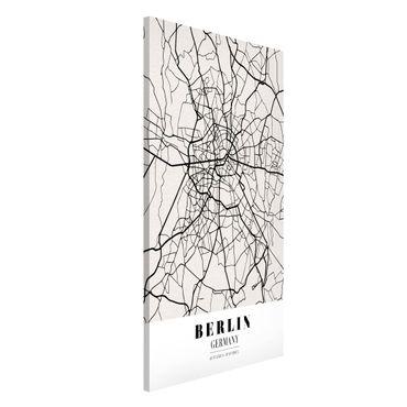Lavagna magnetica - Berlin City Map - Classic - Formato verticale 4:3
