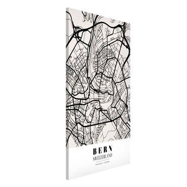 Lavagna magnetica - Bern City Map - Classical - Formato verticale 4:3