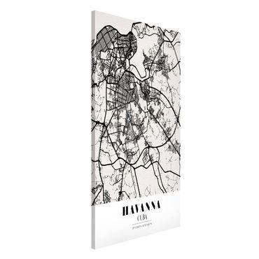 Lavagna magnetica - Havana City Map - Classic - Formato verticale 4:3
