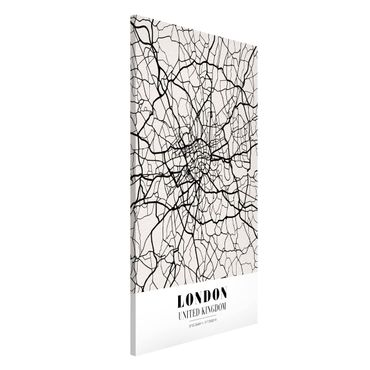 Lavagna magnetica - London City Map - Classic - Formato verticale 4:3