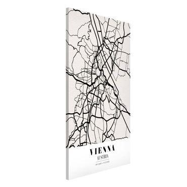 Lavagna magnetica - Vienna City Map - Classic - Formato verticale 4:3