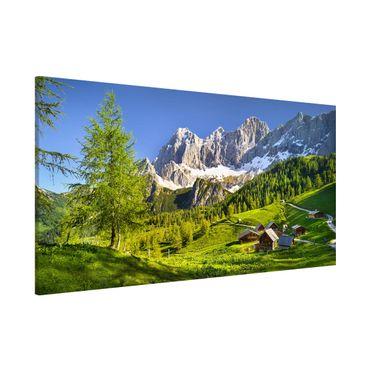 Lavagna magnetica - Styria Alpine Meadow - Panorama formato verticale