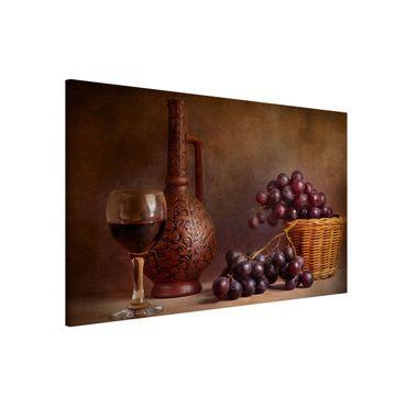 Lavagna magnetica - Still Life with Grapes - Formato orizzontale 3:2