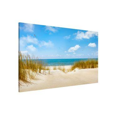 Lavagna magnetica - Beach On The North Sea - Formato orizzontale