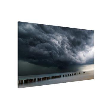 Lavagna magnetica - Nubi di tempesta sul Mar Baltico - Formato orizzontale 3:2