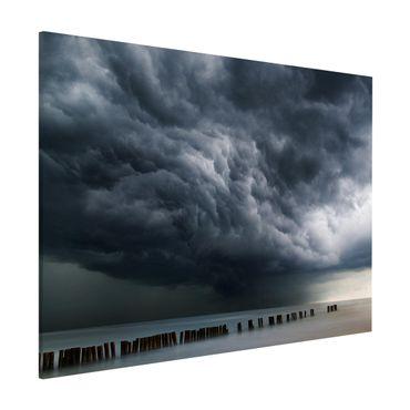 Lavagna magnetica - Nubi di tempesta sul Mar Baltico - Formato orizzontale 3:4