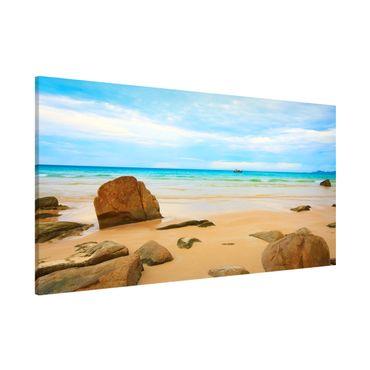Lavagna magnetica - The Beach - Panorama formato orizzontale