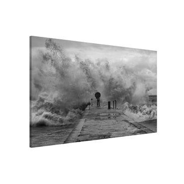 Lavagna magnetica - Raging Sea - Formato orizzontale 3:2
