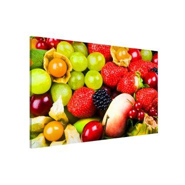 Lavagna magnetica - Tropical Fruits - Formato orizzontale
