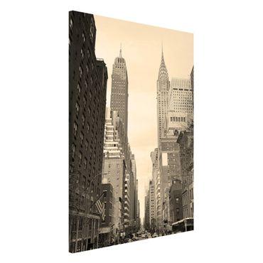Lavagna magnetica - Usa Postcard - Formato verticale