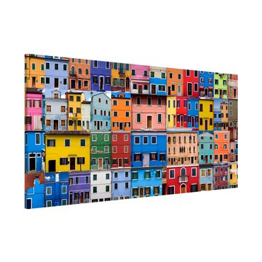 Lavagna magnetica - Venetian Homes - Panorama formato orizzontale