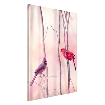 Lavagna magnetica - Birds On Branches - Formato verticale 2:3