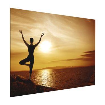 Lavagna magnetica - Yoga - Formato orizzontale 3:4