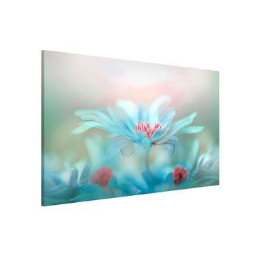 Lavagna magnetica - Delicate Flowers in Pastel - Formato orizzontale 3:2