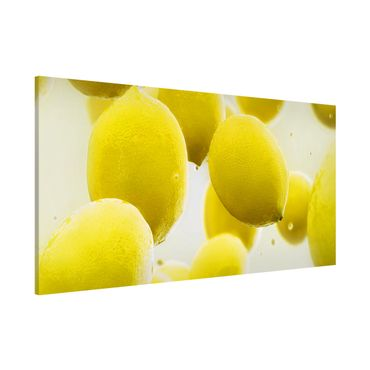 Lavagna magnetica - Lemons In The Water - Panorama formato orizzontale