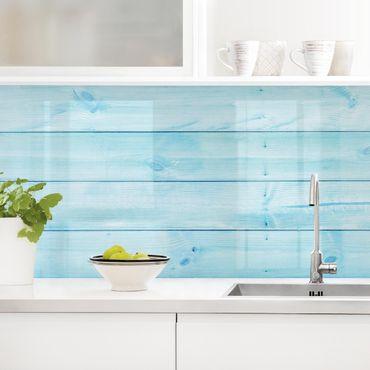 Rivestimento cucina - Tavole di legno marittime