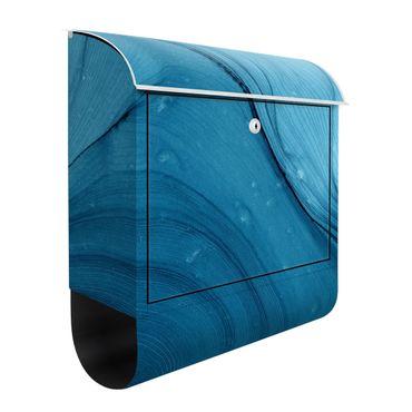 Cassetta postale - Mélange blu