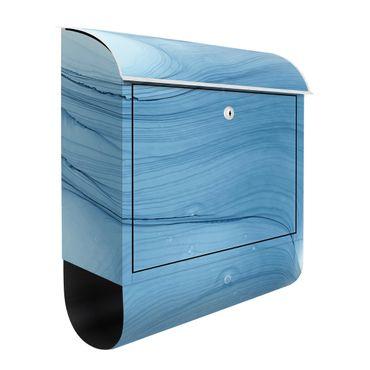 Cassetta postale - Mélange in blu chiaro