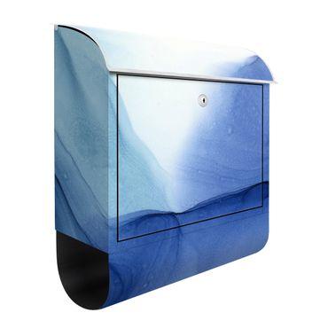 Cassetta postale - Mélange di inchiostro blu