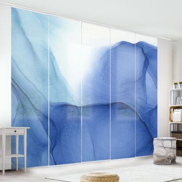 Tenda scorrevole set -Mélange di inchiostro blu - Pannello