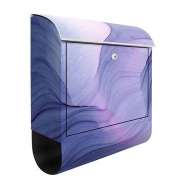 Cassetta postale - Mélange violetto