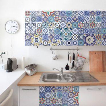Carta Adesiva per Mobili - Tiling pattern - Ornate Portuguese tiles