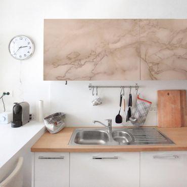 Carta Adesiva per Mobili - Marble Look Gray Brown