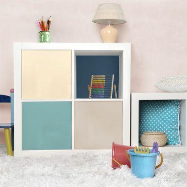 Carta Adesiva per Mobili - Living colours set lagoon - Cashmere sandy pastel turquoise slate blue