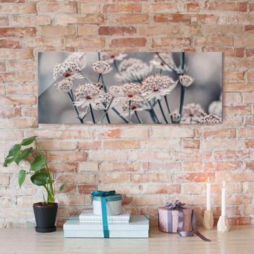 Quadro in vetro - Mistico cespuglio di fiori