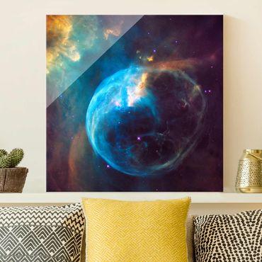 Quadro in vetro - Foto NASA Bubble Nebula