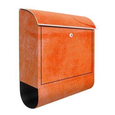 Cassetta postale - Toro arancione
